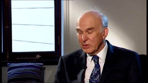 banks face billion pound compensation bill in new mis-selling scandal; int vince cable mp interview sot ext royal bank of scotland sign close shot... - banking sign stock videos & royalty-free footage
