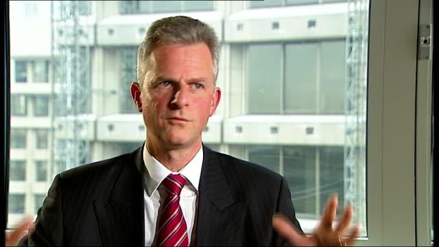 Foreign banks enter UK savings market INT Mark SismeyDurrant interview SOT David Oddsson interview SOT