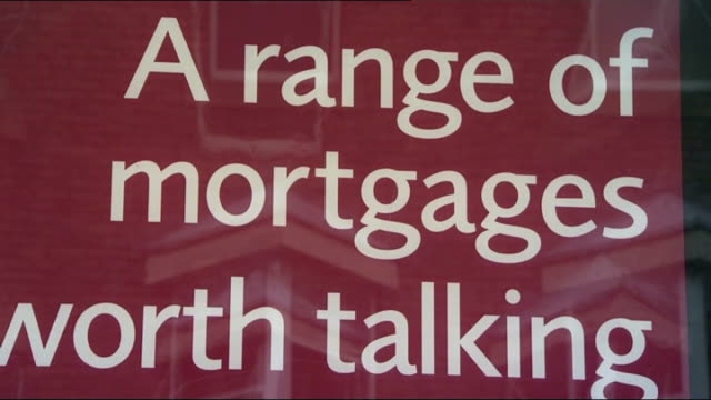 government to sell off northern rock bank t04080918 newcastle ext sign above bank 'northern rock' shots of sign in window cbv customer using cash... - banking sign stock videos & royalty-free footage