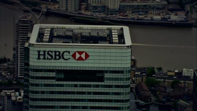 HSBC announces UK job losses DATE AIR VIEWs HSBC Headquarters