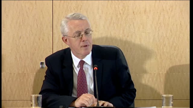 Banking Inquiry press conference Sir John Vickers Chair of Independent Commission on Banking] SOT Range of options laid out in this paper include...
