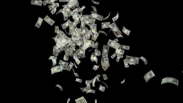 vídeos y material grabado en eventos de stock de billetes del yen japonés, 10000 jpy, 5000 jpy y 2000 jpy mixto, bucle de fondo animado, flujo, explosión 4k bucle sin costura, clave de croma, vídeo de stock - ganar dinero