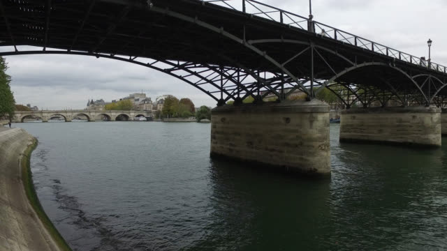 banks of the seine - seine river stock videos and b-roll footage