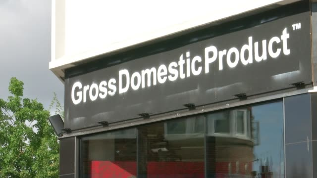 banksy opens popup shop in croydon england london croydon ext various shots of 'gross domestic product' popup hardware shop with banksy artworks on... - welcome mat stock videos and b-roll footage