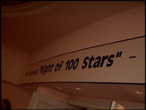 banner at the night of 100 stars oscar gala at the beverly hilton in beverly hills california on february 29 2004 - 76th annual academy awards stock videos & royalty-free footage