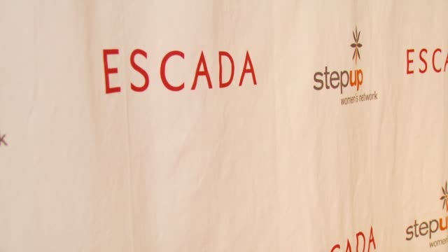 stockvideo's en b-roll-footage met banner at the step up women's network inspiration awards at the beverly wilshire hotel in beverly hills california on april 20 2007 - women's image network awards