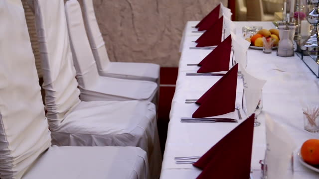 Bankett-Tisch