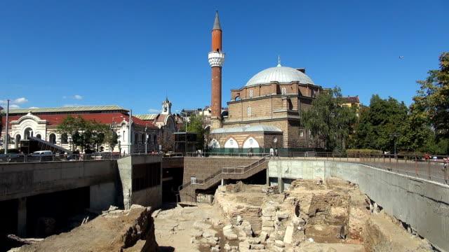 banya bashi mosque - sofia, bulgaria - bulgaria stock videos & royalty-free footage