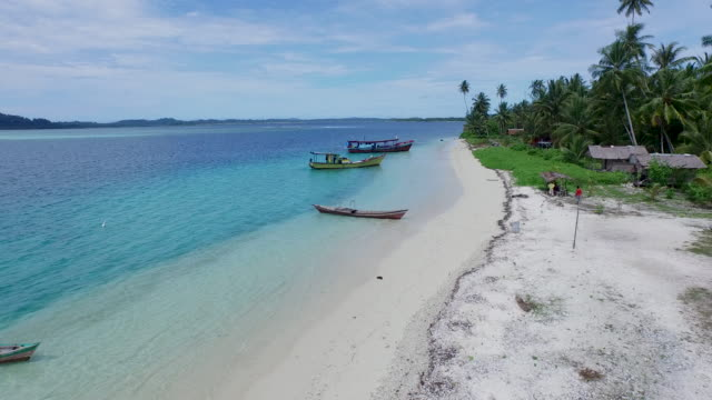 banyak islands, aceh singkil. - indonesia stock videos & royalty-free footage