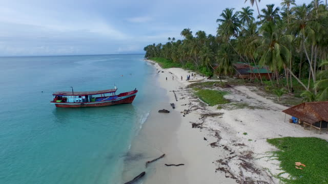 banyak islands, aceh singkil. - indonesia video stock e b–roll