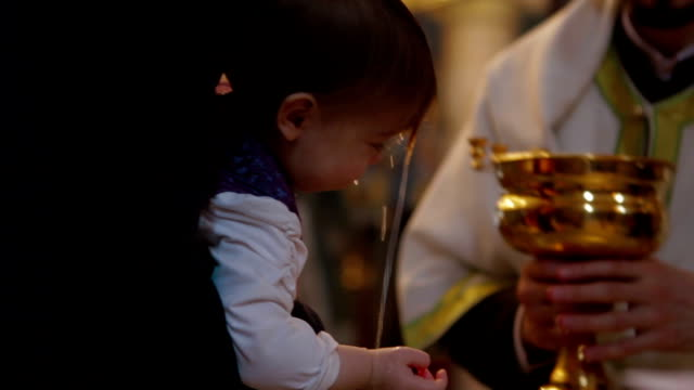 baptism - baptism stock videos & royalty-free footage