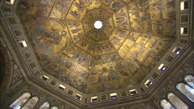 stockvideo's en b-roll-footage met baptistry, florence, italy - florence italië