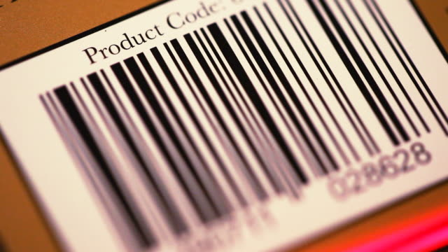 bar code scan - label stock videos & royalty-free footage