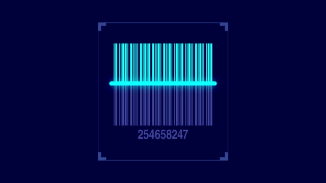bar code scanner scanning product code - bar background stock videos & royalty-free footage