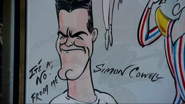 bar inspired by work of cartoonist gerald scarfe opens in holborn; england: london: holborn: rosewood hotel: int ** geralde scarfe interview overlaid... - gerald scarfe stock videos & royalty-free footage