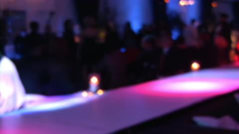 bar, pub, restaurant, nightclub scene. large group of people clubbing. - soft focus stock videos & royalty-free footage