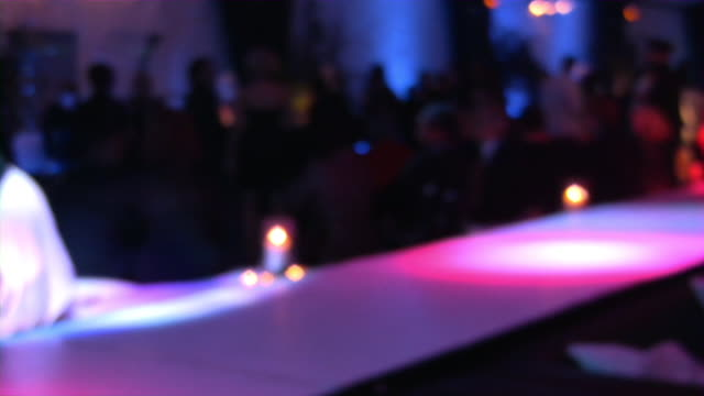 bar, pub, restaurant, nightclub scene. large group of people clubbing. - soft focus stock videos & royalty-free footage
