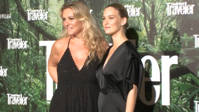 Bar Refaeli and her mother Tzipi Levine attend the IX Conde Nast Traveler Awards Ceremony at Ritz hotel