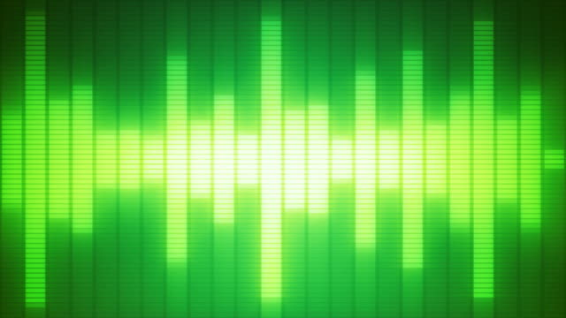 EQ Bar Waveform GREEN
