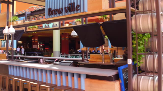 bar with alcoholic drinks at the entrance dolphin mall is a shopping mall in sweetwater miamidade county florida west of the city of miami there are... - miami dade county stock videos & royalty-free footage