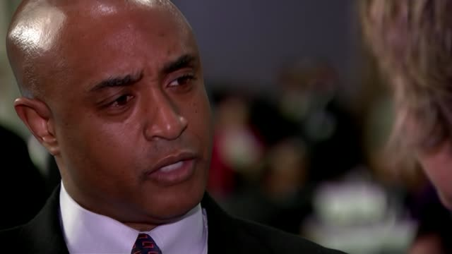 barack obama calls on police forces to heal rift with communities they serve washington dc int dr anthony batts interview sot talks of the policing... - アメリカ黒人の歴史点の映像素材/bロール