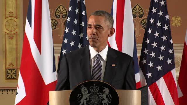 barack obama comments on the duke of edinburgh's driving at a press conference april 2016 nnbu286k abra943d - obama stock videos & royalty-free footage