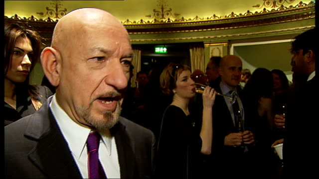 barack obama presidential inauguration ceremony world response sophie ellisbextor interview sot sir ben kingsley interview sot michael sheen... - ben kingsley stock videos & royalty-free footage