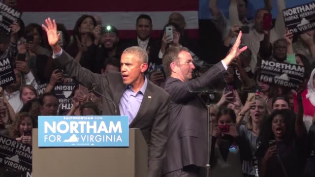 Barack Obama returns to the campaign trail for the first time in months railing against the politics of division after keeping a low profile and...
