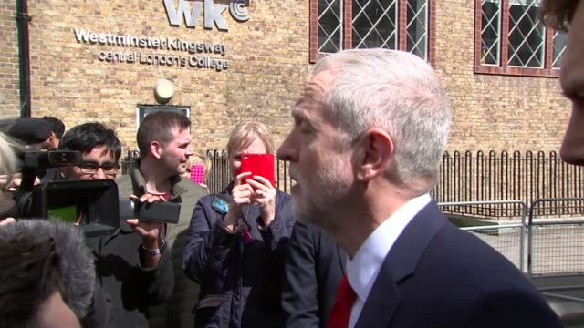 barack obama urges next generation of leaders to help change the world jeremy corbyn mp along jeremy corbyn mp speaking to press sot most of the... - town hall meeting stock videos and b-roll footage