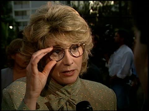 vídeos y material grabado en eventos de stock de barbara bosson at the 1996 emmy nomination party at the marque hotel in westwood california on september 4 1996 - westwood