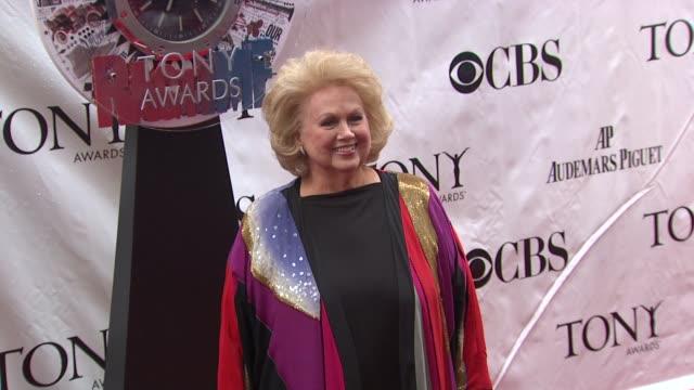 Barbara Cook at the 64th Annual Tony Awards at New York NY