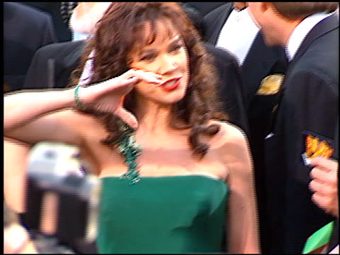 barbara hershey at the 1997 academy awards arrivals at the shrine auditorium in los angeles california on march 24 1997 - 69th annual academy awards stock videos and b-roll footage