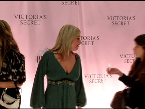 barbara k at the 10th victoria's secret fashion show arrivals at the armory in new york new york on november 9 2005 - waffenlager stock-videos und b-roll-filmmaterial