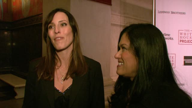 barbara kopple and cecilia peck on their film shut up and sing which is being honored tonight, freedom of speech, the dixie chicks and their three... - epic film stock videos & royalty-free footage