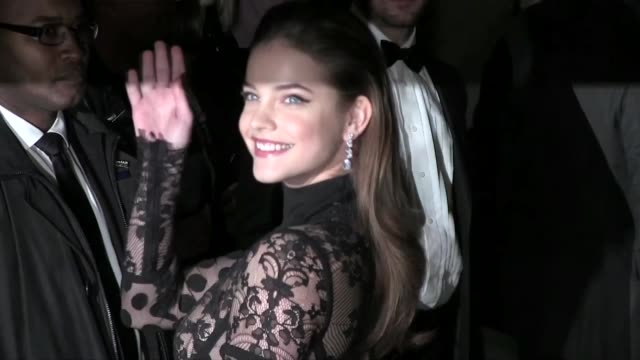 Barbara Palvin and Veronica Webb at the amfAR The Foundation for AIDS Research kick off New York Fashion Week with its annual New York Gala at...