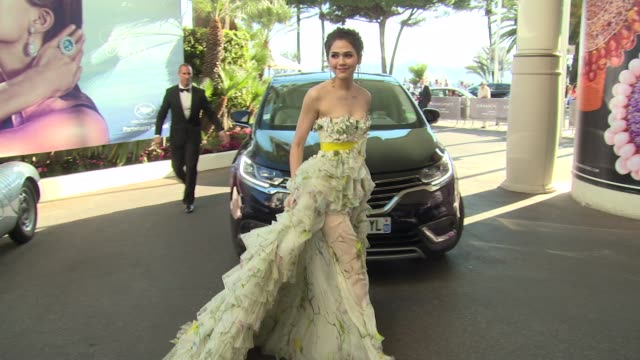 BROLL Barbara Palvin Megan Gale Petra Nemcova Aishwarya Rai at Cannes Celebrity Sightings on 21st May 2015 in Cannes France