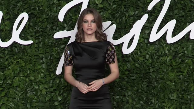 barbara palvin on the red carpet for the british fashion awards 2019 held at royal albert hall in london london, uk on monday december 2, 2019 - fashion designer stock videos & royalty-free footage