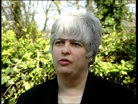 barbara roche mp interview sot where people are committing this offence we want to look at fasttracking their application for asylum islington n... - jeremy corbyn stock-videos und b-roll-filmmaterial