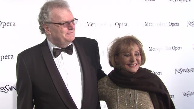 Barbara Walters at Metropolitan Opera Gala Premiere Of Jules Massenet's Manon at The Metropolitan Opera House on March 26 2012 in New York New York