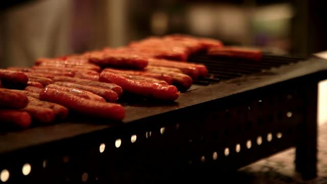 barbecue cottura - grigliare video stock e b–roll