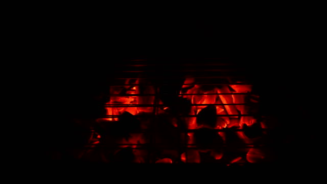 barbecue fire - 4k resolution - fantasy stock videos & royalty-free footage