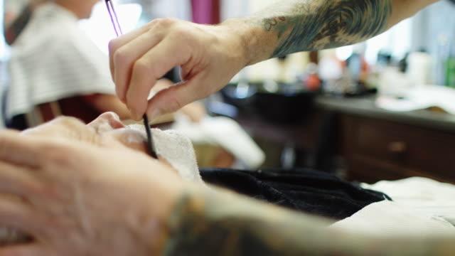 Barber At Work