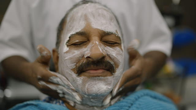 barber shop - dubai - towel stock videos & royalty-free footage