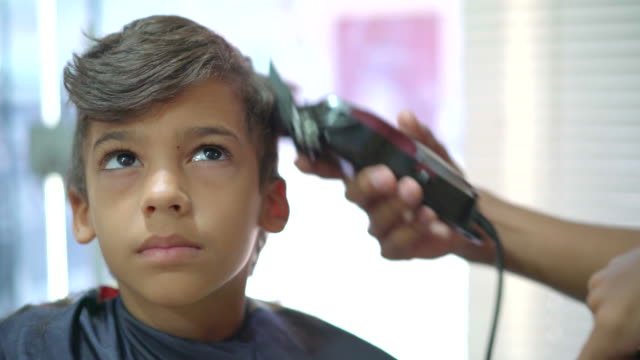 barber shop - hairstyle stock videos & royalty-free footage