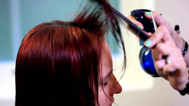 barber - spray cleaner stock videos & royalty-free footage