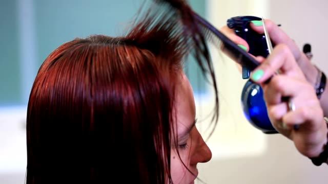 barber - human hair stock videos & royalty-free footage