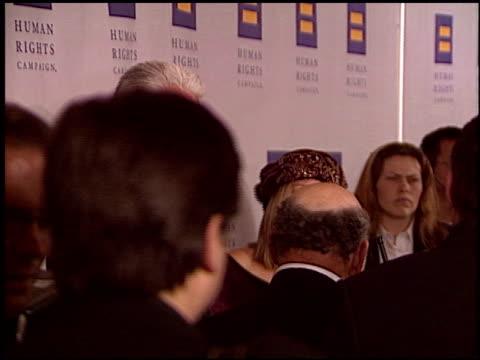 stockvideo's en b-roll-footage met barbra streisand at the human rights campaign honors barbra streisand at the century plaza hotel in century city, california on march 6, 2004. - barbra streisand