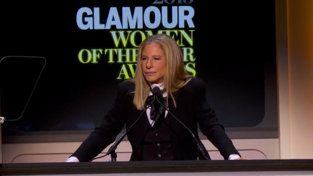 vídeos de stock, filmes e b-roll de barbra streisand on gender and equality, on heart disease, and believes that malala yousafzai story should be an inspiration to all women that... - barbra streisand