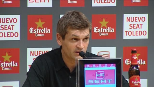 barcelona , aug 24 .- barcelona coach tito vilanova warned after beating real madrid 3-2 during the first leg of the spanish super cup that in a... - leg press stock videos & royalty-free footage