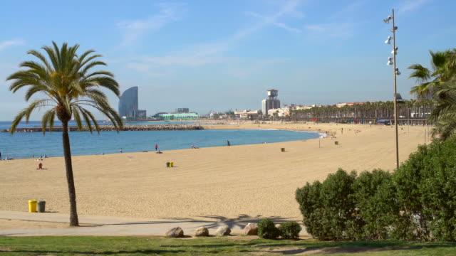 Barcelona beach, Realtime